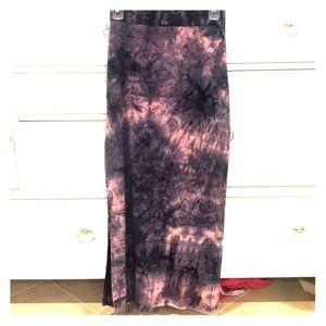 American Eagle Women's Tie Dye Maxi Skirt